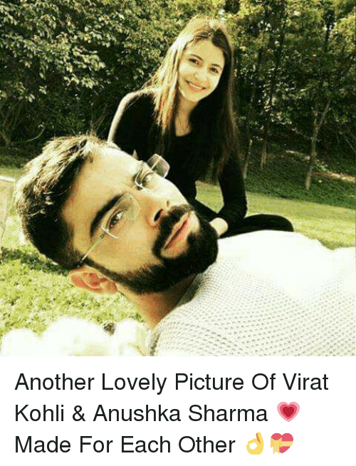 koh: es it Another Lovely Picture Of Virat Kohli & Anushka Sharma 💗 Made For Each Other 👌💝