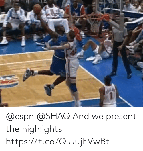 Shaq: @espn @SHAQ And we present the highlights  https://t.co/QlUujFVwBt