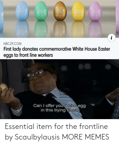Item: Essential item for the frontline by Scaulbylausis MORE MEMES
