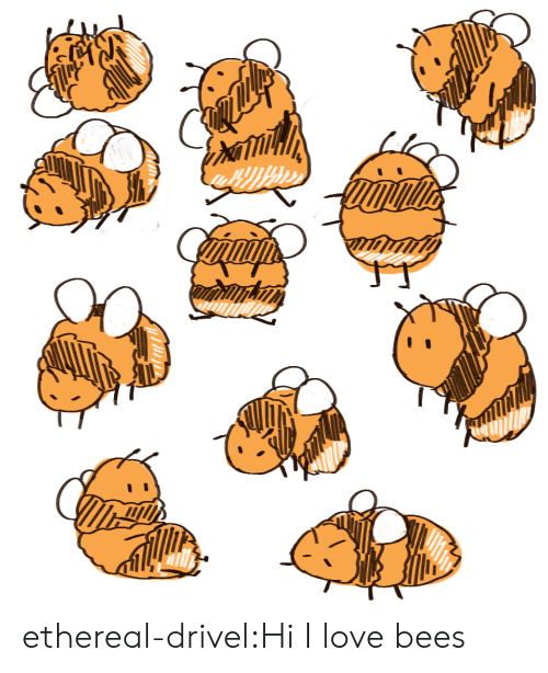 ethereal: ethereal-drivel:Hi I love bees