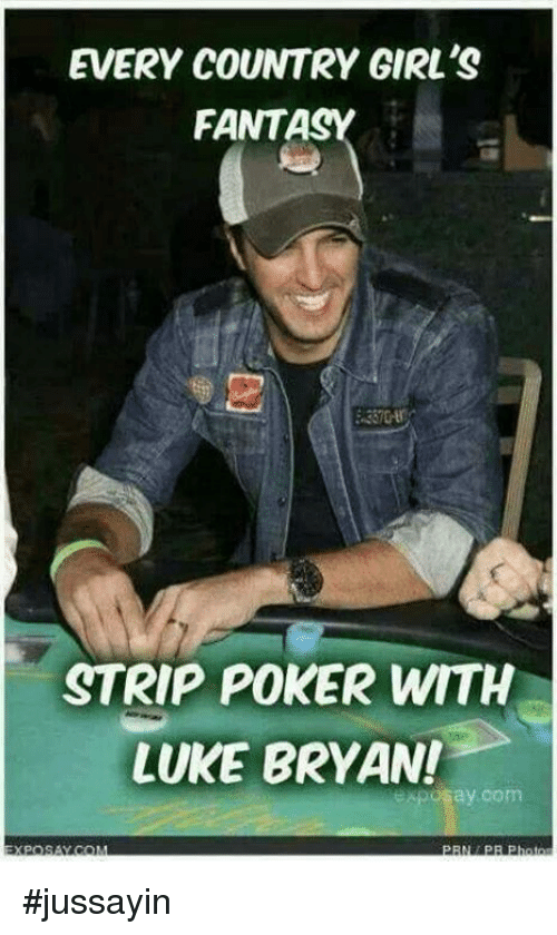 Every Country Girls Fantasy Strip Poker With Luke Bryan Ay Com