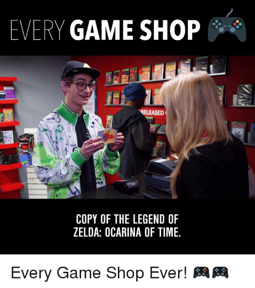 the legend of zelda: EVERY GAME SHOP  RELEASED  COPY OF THE LEGEND OF  ZELDA: OCARINA OF TIME. Every Game Shop Ever! 🎮🎮