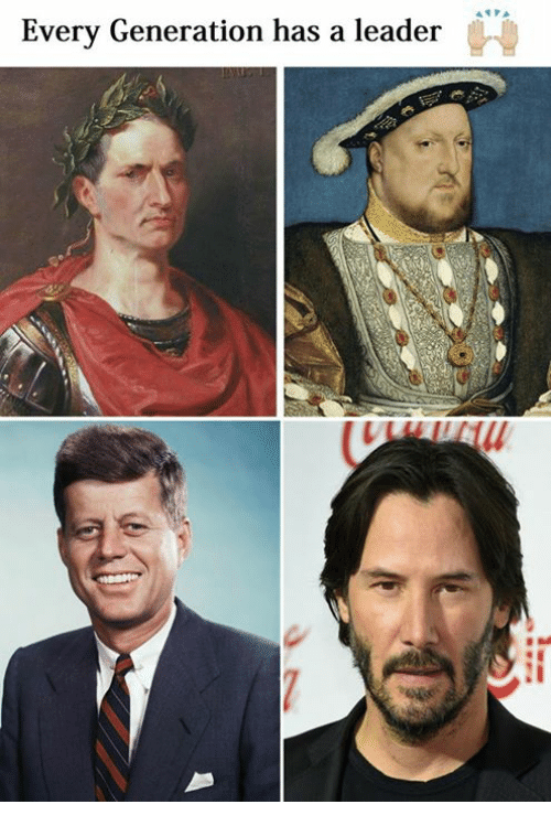 Classical Art, Generation, and Leader: Every Generation has a leader