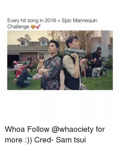 Mannequin Challenges: Every hit song in 2016 Epic Mannequin  Challenge Whoa Follow @whaociety for more :)) Cred- Sam tsui