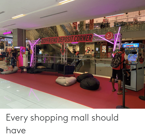 Shopping: Every shopping mall should have