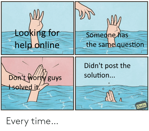 Every: Every time…