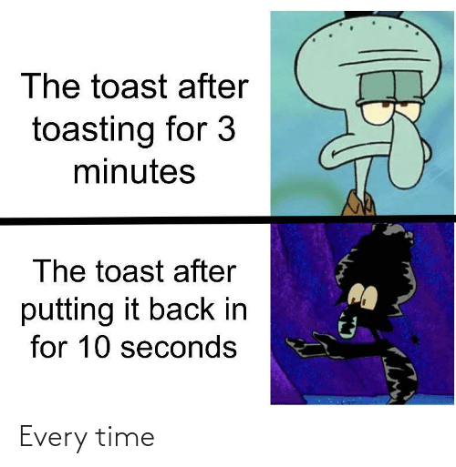 every time: Every time