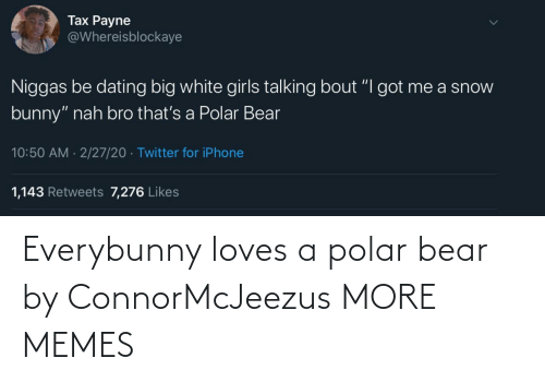 Bear: Everybunny loves a polar bear by ConnorMcJeezus MORE MEMES