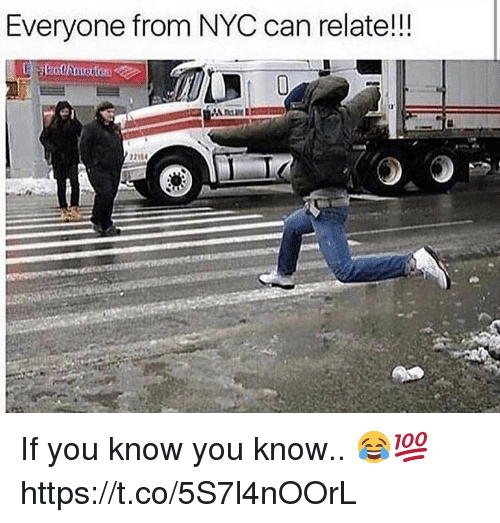 Memes, 🤖, and Nyc: Everyone from NYC can relate!!! If you know you know.. 😂💯 https://t.co/5S7l4nOOrL