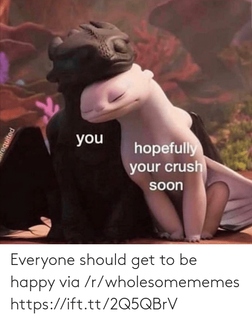 R Wholesomememes: Everyone should get to be happy via /r/wholesomememes https://ift.tt/2Q5QBrV