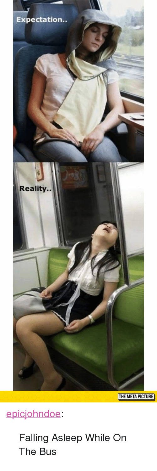 """Expectation Reality: Expectation..  Reality..  THE META PICTURE <p><a href=""""https://epicjohndoe.tumblr.com/post/172662172634/falling-asleep-while-on-the-bus"""" class=""""tumblr_blog"""">epicjohndoe</a>:</p>  <blockquote><p>Falling Asleep While On The Bus</p></blockquote>"""