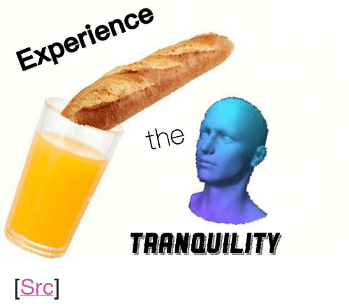 """Bei: Experience  the  TRANQUILITY <p>[<a href=""""https://www.reddit.com/r/surrealmemes/comments/7yf8yo/%CE%BE%CF%B8%C9%99%C9%BEi%C9%99%D0%B8%C9%94%C9%99_%CF%B8%C9%99%CA%8C%C6%A8%C9%99/"""">Src</a>]</p>"""