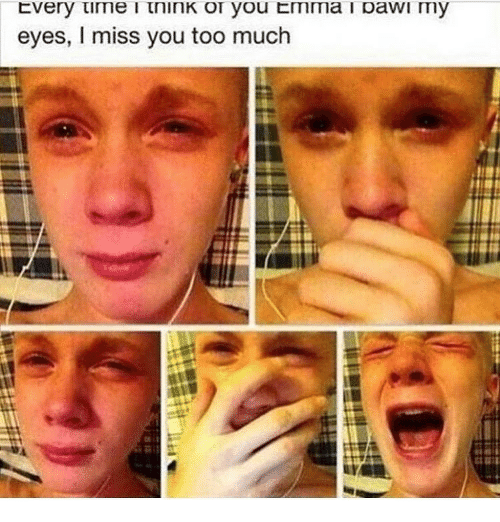 Miss You Too: eyes, I miss you too much