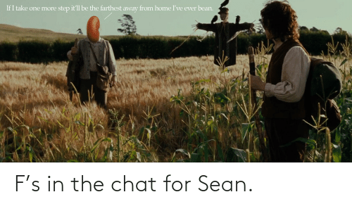 F S In The Chat For Sean Chat Meme On Astrologymemes Com