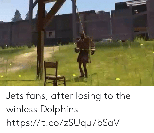Jets: F Jets fans, after losing to the winless Dolphins https://t.co/zSUqu7bSaV