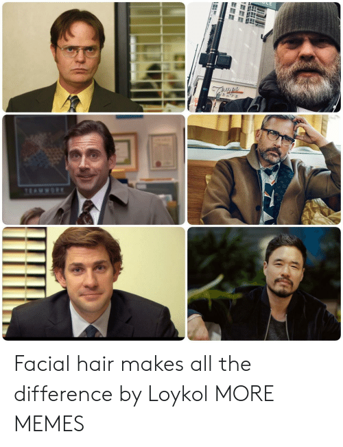 Facial: Facial hair makes all the difference by Loykol MORE MEMES
