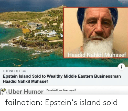 Sold: failnation:  Epstein's island sold