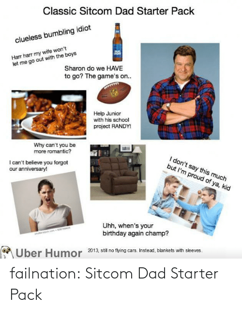 pack: failnation:  Sitcom Dad Starter Pack