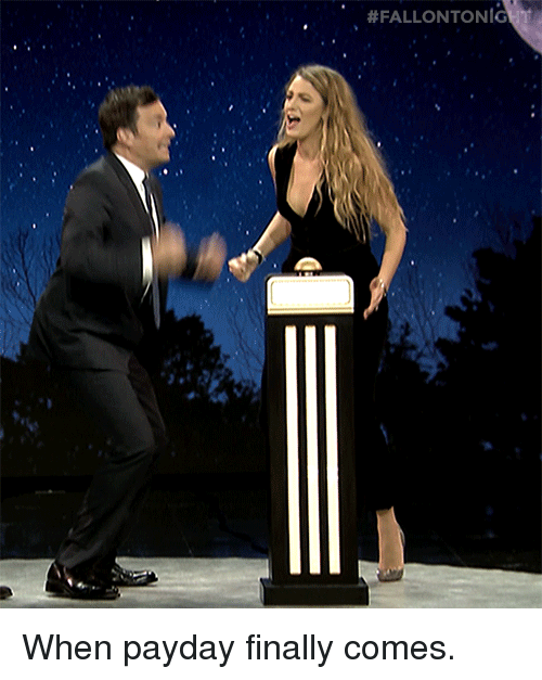 Target, youtube.com, and Watch:  #FALLONTONIG  nt When payday finally comes.