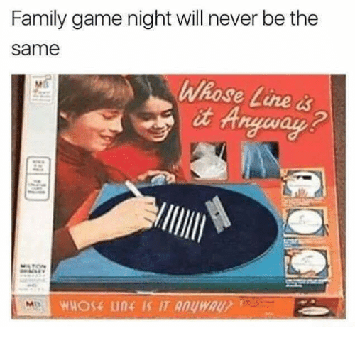 whose line: Family game night will never be the  same  Whose Line &  it A  2  SA