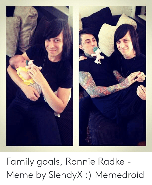 Ronnie radke wife and baby