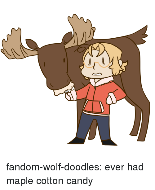 cotton candy: fandom-wolf-doodles:  ever had maple cotton candy