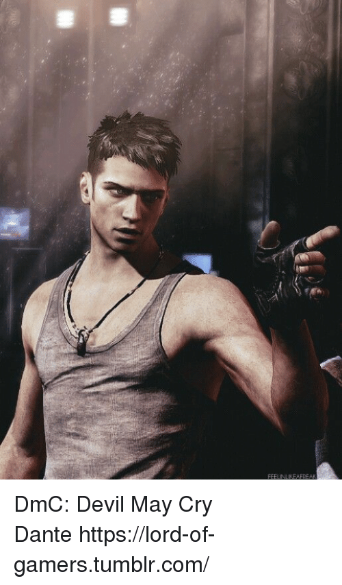 May Cry: FEEUNLIKEAFREA   DmC: Devil May Cry  Dantehttps://lord-of-gamers.tumblr.com/