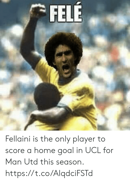 ucl: FELE Fellaini is the only player to score a home goal in UCL for Man Utd this season. https://t.co/AIqdciFSTd