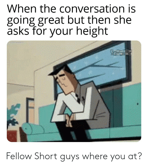 short: Fellow Short guys where you at?