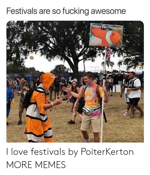 fucking awesome: Festivals are so fucking awesome  24 I love festivals by PoiterKerton MORE MEMES