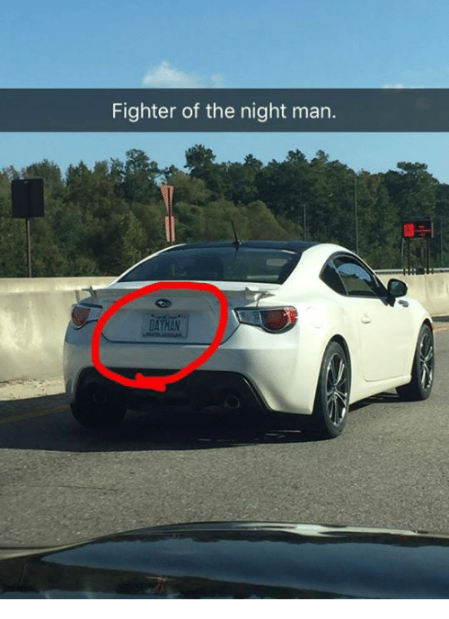 Fighter Of The Night Man