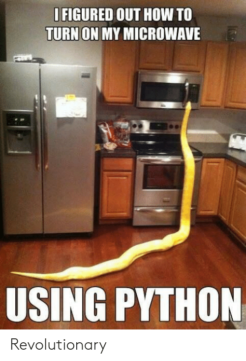 How To, How, and Python: FIGURED OUT HOW TO  TURN ON MY MICROWAVE  USING PYTHON Revolutionary