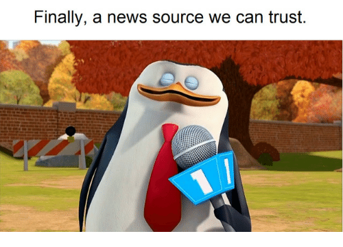 News, Source, and Can: Finally, a news source we can trust