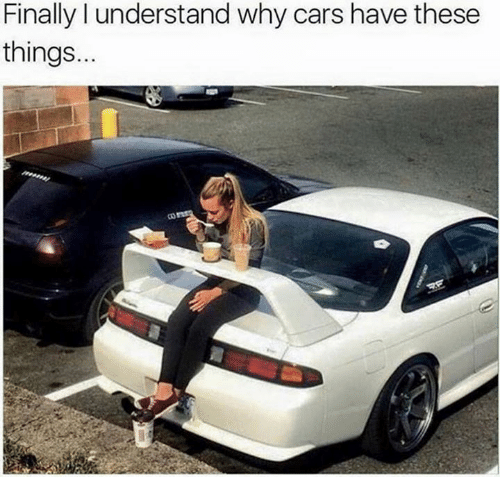 Understanded: Finally l understand why cars have these  things.