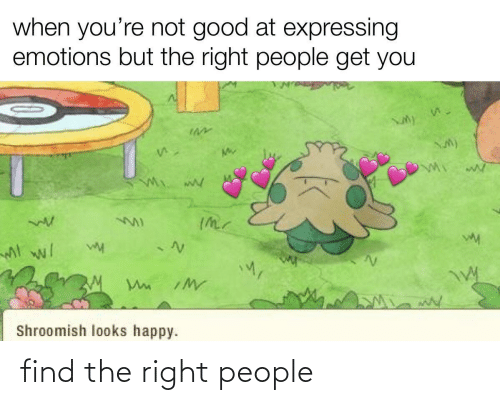 find: find the right people