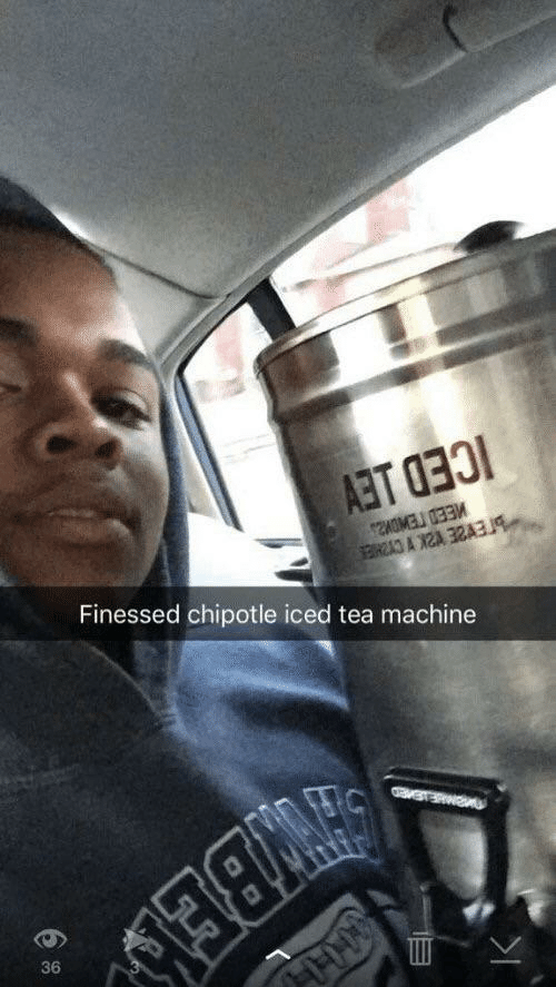 iced: Finessed chipotle iced tea machine  36