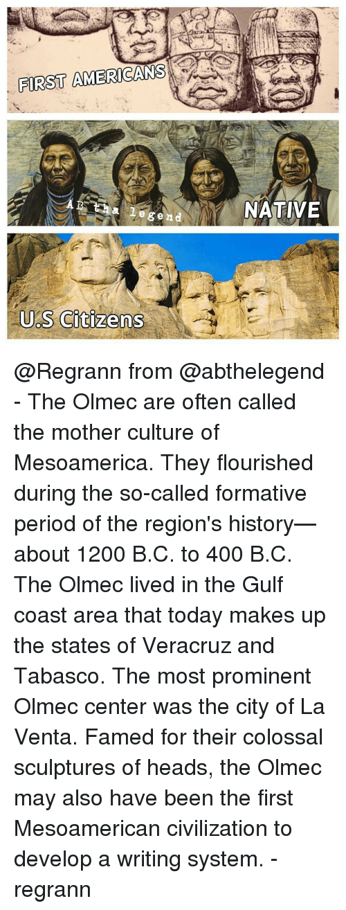an analysis of the olmec were mesoamericas first civilization The mysterious olmec civilization and animal gods were all features of olmec culture which would be passed on to corn is first cultivated in mesoamerica.