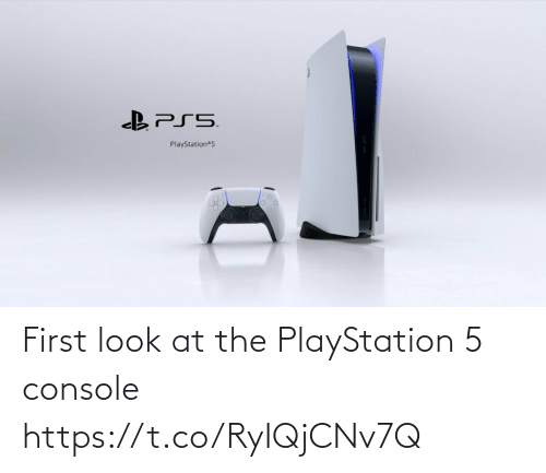 PlayStation: First look at the PlayStation 5 console https://t.co/RyIQjCNv7Q