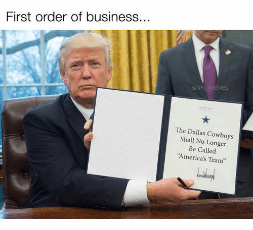 Order Of Business