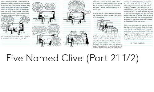 1 2: Five Named Clive (Part 21 1/2)