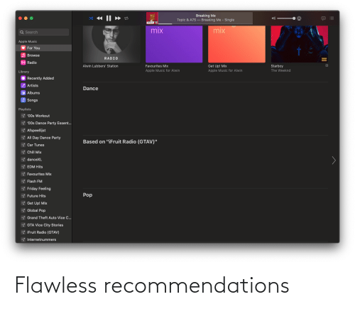 recommendations: Flawless recommendations