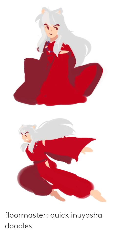 Target, Tumblr, and Blog: floormaster:  quick inuyasha doodles