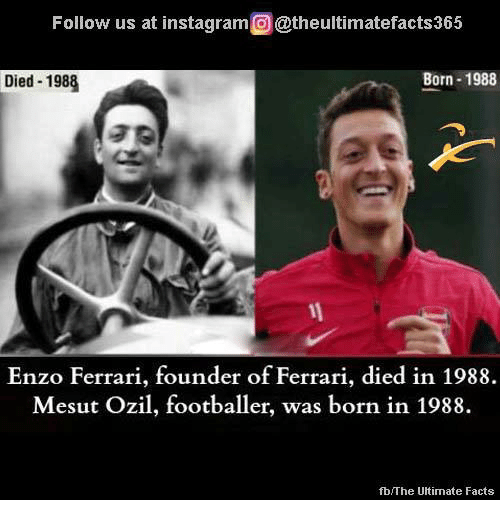 Follow Us At Instagramo At Theultimatefacts365 Born 1988 Died 1988 Enzo