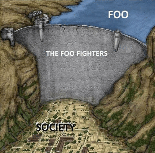society: FOO  THE FOO FIGHTERS  SOCIETY