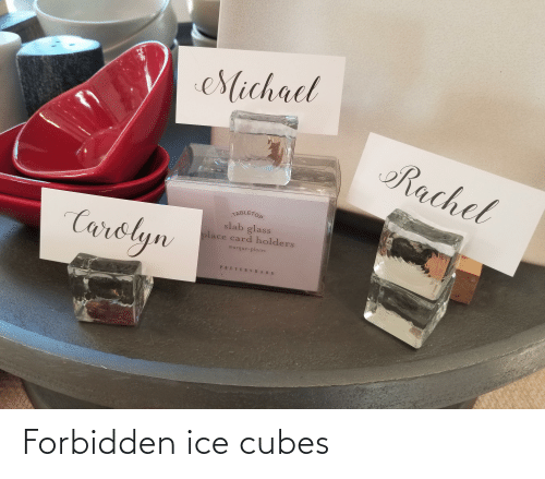 Ice Cubes: Forbidden ice cubes