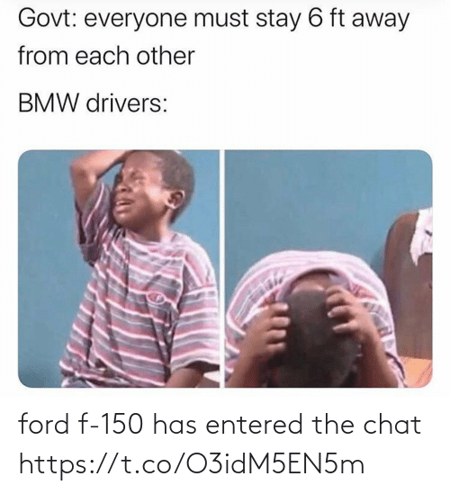 Ford: ford f-150 has entered the chat https://t.co/O3idM5EN5m