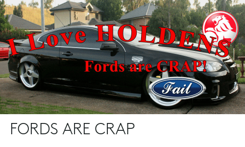 Fords: FORDS ARE CRAP