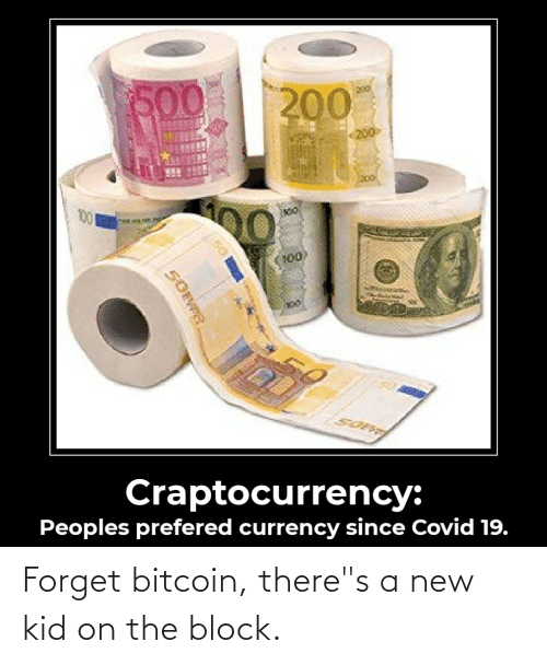 """Bitcoin: Forget bitcoin, there""""s a new kid on the block."""