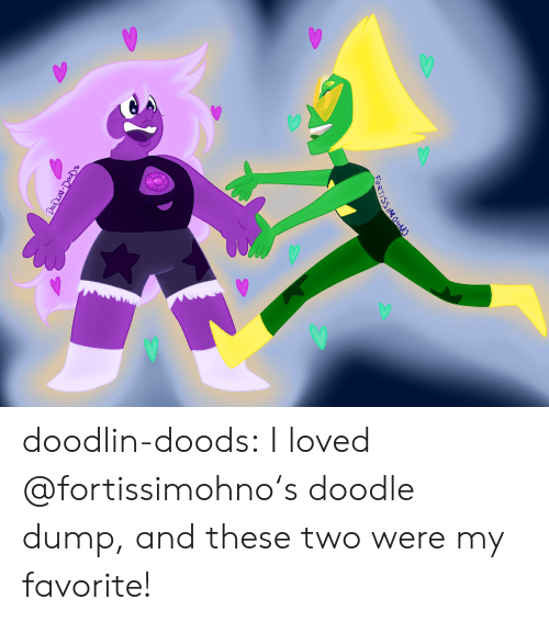 Doods: FORTISSIMOHNO  DOODLN-DOODs doodlin-doods:  I loved @fortissimohno's doodle dump, and these two were my favorite!
