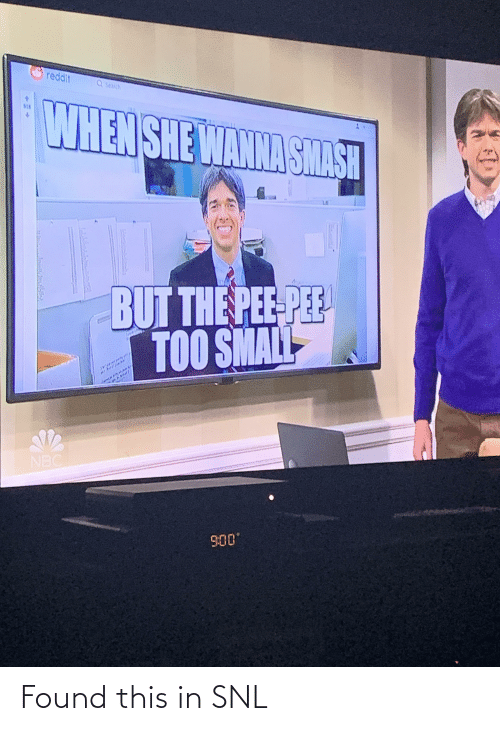 SNL: Found this in SNL